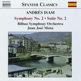 Andres Isasi (1890-1940): Symphonie Nr. 2 g-moll op. 23 (Exklusive Wiederauflage für jpc), CD