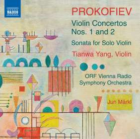 Serge Prokofieff (1891-1953): Violinkonzerte Nr. 1 & 2, CD