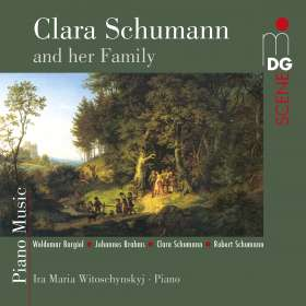 Ira Maria Witoschynskyj - Clara Schumann and her Family, CD