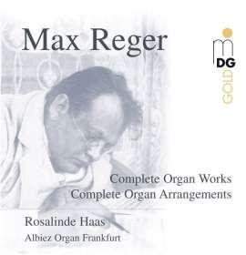 Max Reger (1873-1916): Sämtliche Orgelwerke, CD