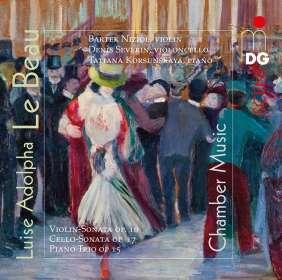 Luise Adolpha le Beau (1850-1927): Kammermusik, SACD