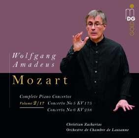 Wolfgang Amadeus Mozart (1756-1791): Klavierkonzerte Vol.2/17 (Limitierte und nummerierte Vinyl-Edition / 180g), LP