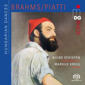 Johannes Brahms (1833-1897): Ungarische Tänze Nr.1-21 (arrangiert für Cello & Klavier von Alfredo Piatti), SACD