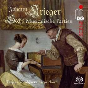 Johann Krieger (1651-1735): Sechs Musicalische Partien, SACD