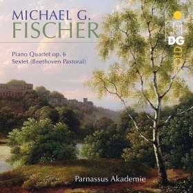 Michael Gotthard Fischer (1773-1829): Klavierquartett op.6, CD