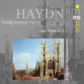Joseph Haydn (1732-1809): Streichquartette Vol.13, CD