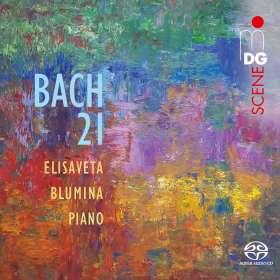 "Johann Sebastian Bach (1685-1750): Klavierwerke ""Bach 21"", SACD"