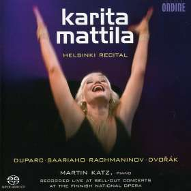 Karita Mattila - Helsinki Recital, SACD