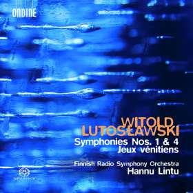 Witold Lutoslawski (1913-1994): Symphonien Nr.1 & 4, SACD
