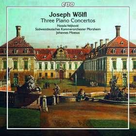 Joseph Wölfl (1773-1812): Klavierkonzerte Nr.2 & 3, CD
