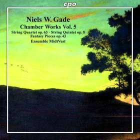 Niels Wilhelm Gade (1817-1890): Kammermusik Vol.5, CD