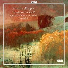 Emilie Mayer (1812-1883): Symphonien Nr.1 & 2, CD