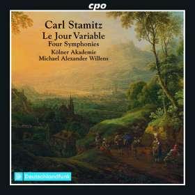 Carl Stamitz (1745-1801): Symphonien, CD