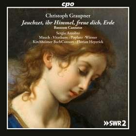 Christoph Graupner (1683-1760): Kantaten mit obligatem Fagott, CD