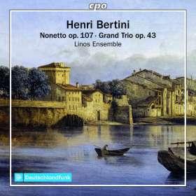 Henri Bertini (1798-1876): Nonett D-Dur op.107, CD
