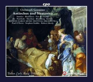 Christoph Graupner (1683-1760): Antiochus & Stratonica, CD