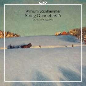 Wilhelm Stenhammar (1871-1927): Streichquartette Nr.3-6, SACD