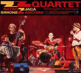 ZZ Quartet: Midnight In Europe, CD