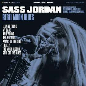 Sass Jordan: Rebel Moon Blues, CD