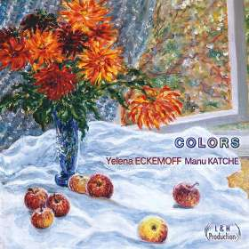 Yelena Eckemoff & Manu Katche: Colors, CD