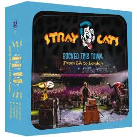 Stray Cats: Rocked This Town: From LA To London (Limited Boxset), CD
