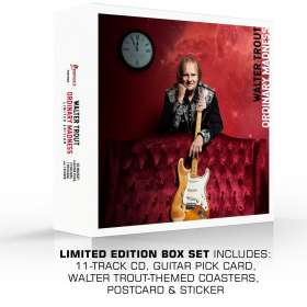 Walter Trout: Ordinary Madness (Limited Edition Box Set), CD