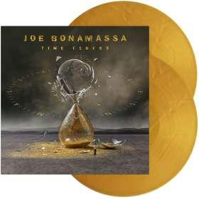 Joe Bonamassa: Time Clocks (180g) (Limited Edition) (Gold Vinyl), LP