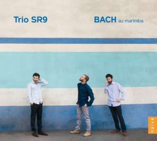 Trio SR9 - Bach au marimba, CD