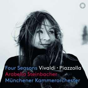 """Antonio Vivaldi (1678-1741): Concerti op.8 Nr.1-4 """"4 Jahreszeiten"""" (Exklusiv für jpc signiert), SACD"""