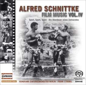 Alfred Schnittke (1934-1998): Filmmusik Edition Vol.4, SACD
