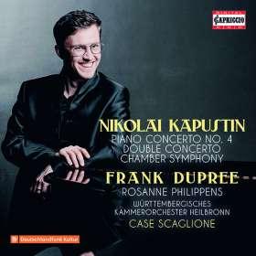 Nikolai Kapustin (1937-2020): Klavierkonzert Nr.4 op.56, CD