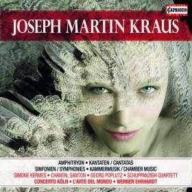Josef Martin Kraus (1756-1792): Josef Martin Kraus Edition (Capriccio), CD