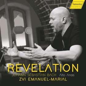 Zvi Emanuel-Marial - Revelation (Bach Alto Arias), CD
