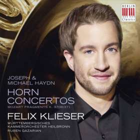 Felix Klieser - Horn Concertos, CD