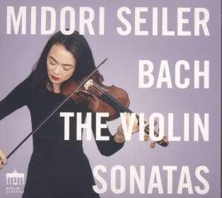 Johann Sebastian Bach (1685-1750): Sonaten für Violine solo BWV 1001,1003,1006 (Nr.1-3), CD