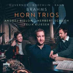 Felix Klieser – Horntrios, CD