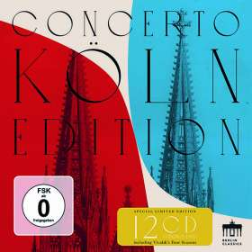 Concerto Köln - Berlin Classics Aufnahmen 2007-2017, CD