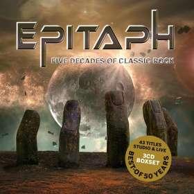 Epitaph (Deutschland): Five Decades Of Classic Rock, CD