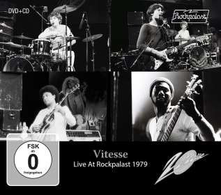 Vitesse: Live At Rockpalast 1979, CD