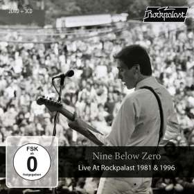 Nine Below Zero: Live At Rockpalast 1981 & 1996 (3CD+2DVD Box), CD