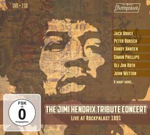 The Jimi Hendrix Tribute Concert: Live at Rockpalast 1991, CD