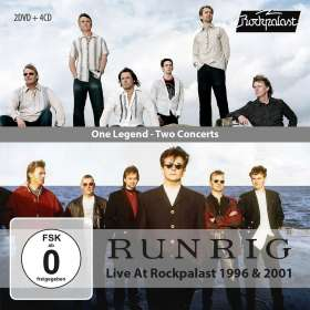 Runrig: One Legend - Two Concerts (Live At Rockpalast 1996 & 2001), CD