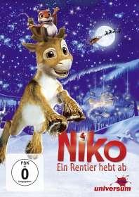 Michael Hegner: Niko - Ein Rentier hebt ab, DVD