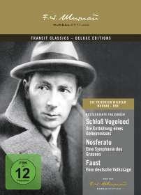 Friedrich Wilhelm Murnau: Die F.W. Murnau-Box, DVD
