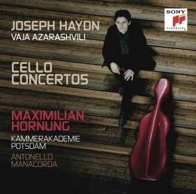 Maximilian Hornung - Cellokonzerte, CD