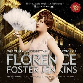 Florence Foster Jenkins - The Glory (????) of the Human Voice (Remasterte Version), CD