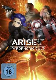 Kazuchika Kise: Ghost in the Shell - Arise: Pyrophoric Cult, DVD