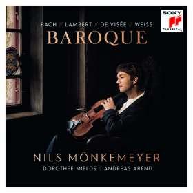 Nils Mönkemeyer - Baroque, CD