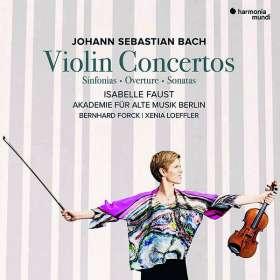 Johann Sebastian Bach (1685-1750): Violinkonzerte BWV 1042,1043,1052,1056, CD