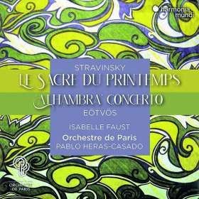 "Peter Eötvös (geb. 1944): Violinkonzert Nr. 3 ""Alhambra"", CD"